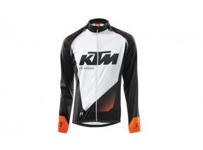 Cyklistická bunda KTM Factory Line DR black (orange+white)