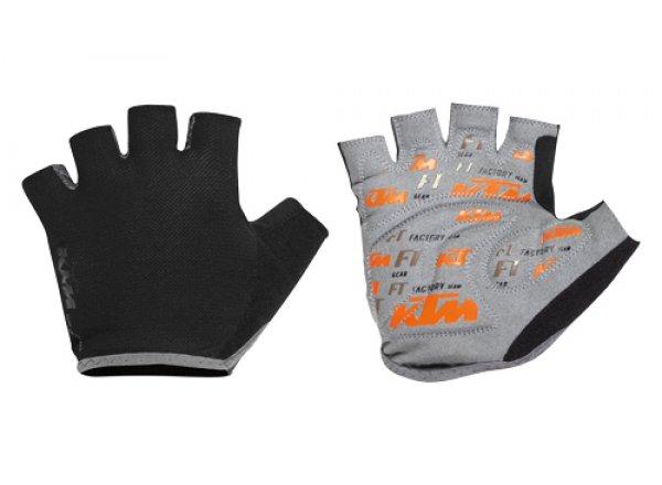 Cyklistické rukavice KTM Factory Team Black