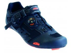 Tretry KTM Factory Team Road Carbon Black (orange)