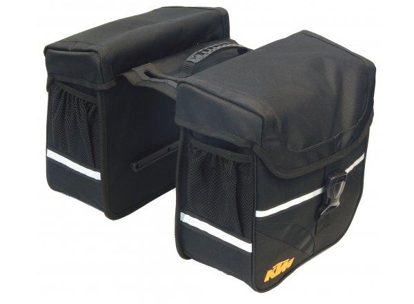 Dvojbrašna na nosič KTM Double Europa Black