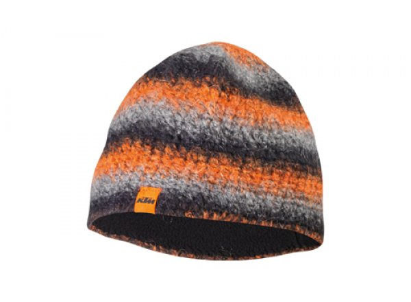Čepice KTM Team Beanie Orange/grey/black