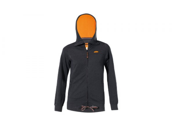 Dámská bunda KTM Factory Lady Sweat Black (orange)