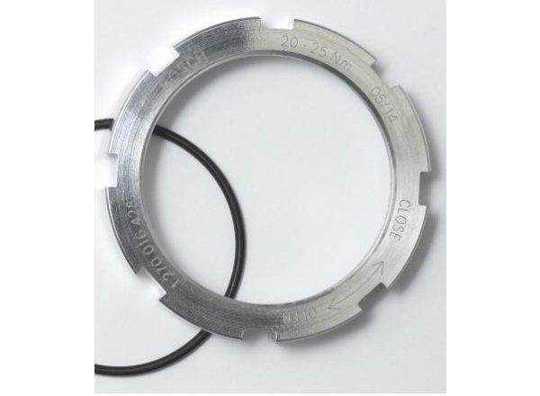 Kroužek Lockring Bosch ActiveLine a PerformanceLine Silver