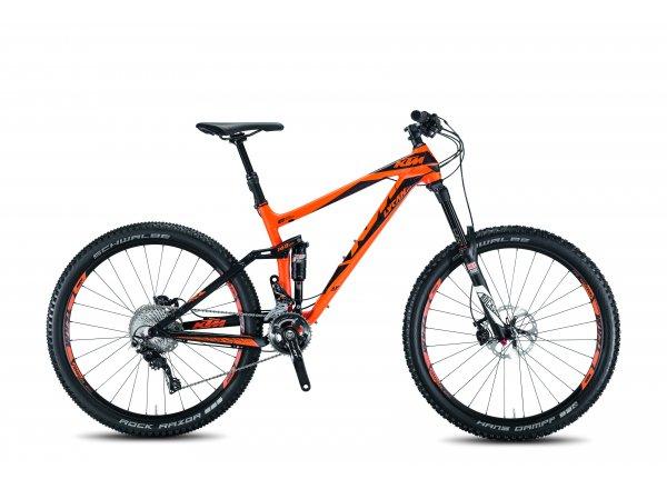 Celoodpružené kolo KTM LYCAN LT 272 33 Orange/black