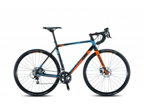 Cyklokrosové kolo KTM CANIC CXA 20s 105 2017 Black/orange/blue