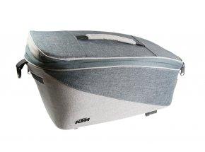 Brašna KTM Carrier Tour Trunk Bag snap it White/grey