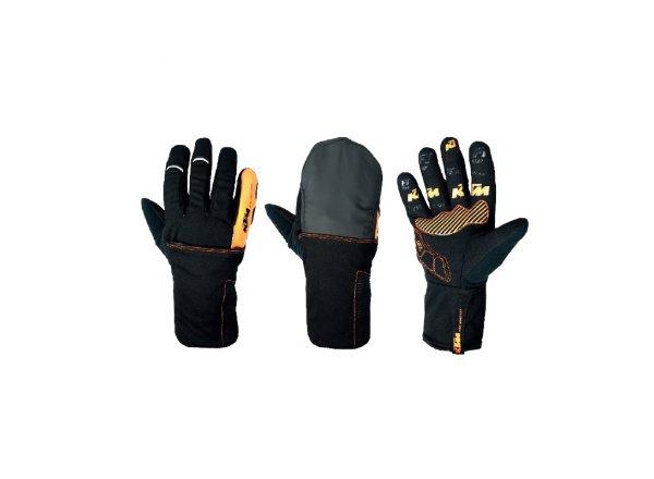 Cyklistické rukavice KTM FT Winter II Black/orange