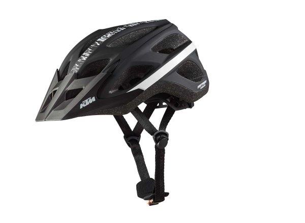 Cyklistická přilba KTM Factory Character III Black/white