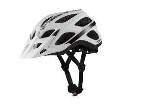 Cyklistická přilba KTM Factory Character III White/Black