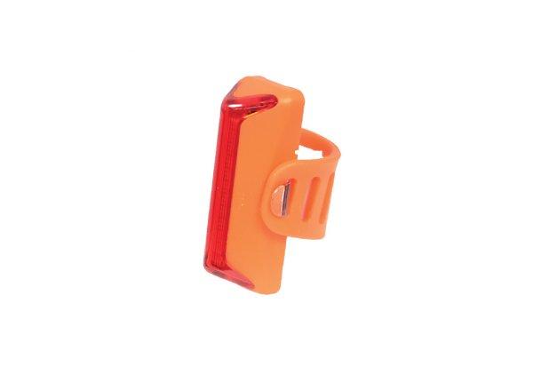 Zadní blikačka KTM COB-X Silikon Rear Light USB Orange