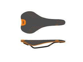 Sedlo KTM Prime Carbon Black/orange