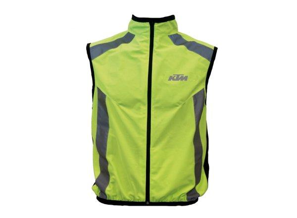 Reflexní vesta KTM Safety Vest Neon yellow