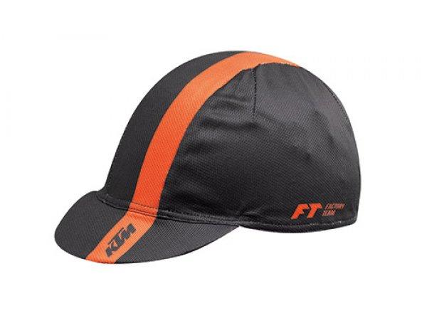 Cyklistická funkční čepice KTM Factory Team 2021 Black/orange