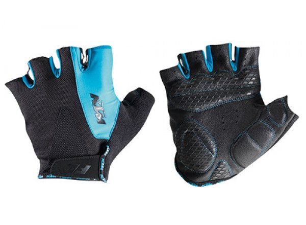 Cyklistické rukavice KTM Factory Line Black/blue