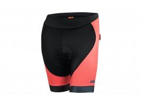Cyklistické kraťasy KTM Lady Line Black/coral/dove