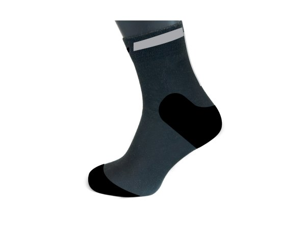 Ponožky KTM Factory Team Black/orange/reflector