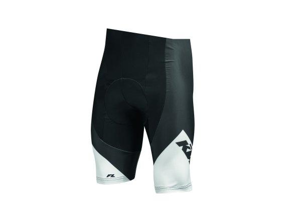 Cyklistické kraťasy KTM Factory Line bez laclu Black/white