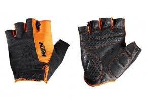 Cyklistické rukavice KTM Factory Line Black/orange