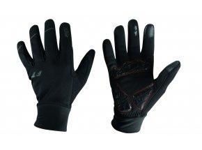 Cyklistické rukavice KTM Factory Team Winter Black