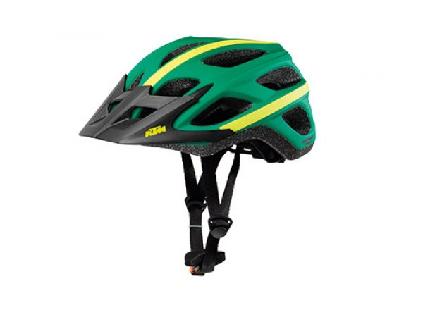 Cyklistická přilba KTM Factory Character III Green/yellow