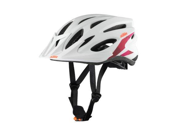 Cyklistická přilba KTM Lady Line white/berry camouflage