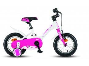 Dětské kolo KTM 1.12 GIRL White/pink