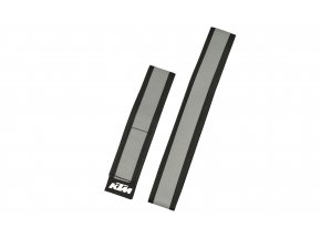 Reflexní pásky KTM 3M - 2 kusy Silver/black