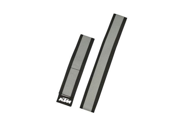 Reflexní pásky KTM 3M - 2 kusy 2021 Silver/black