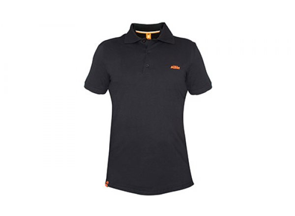 Tričko KTM Factory Team Polo Black/orange