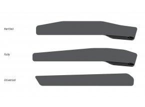 Kryt pod řetěz KTM Chain Stay Protector Fully Black