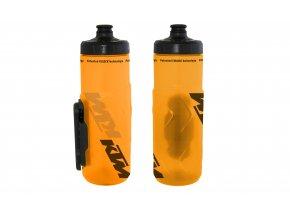 Láhev s držákem KTM Magnetic Click Fidlock Orange