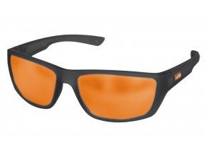 Sluneční brýle KTM Factory C2 2019 Black/oranžová