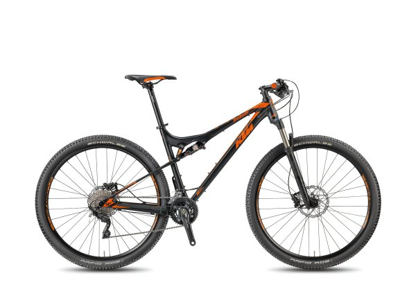 Horské kolo KTM SCARP 295 30 LTD 2018 black matt/orange