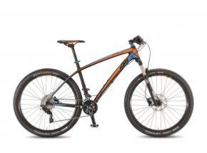 Samostatný karbonový rám KTM AERA 27 Comp Carbon/orange/blue