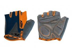 Cyklistické rukavice KTM Factory Line Blue/orange