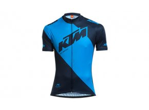 Cyklistický dres KTM Factory Line Blue/dark blue