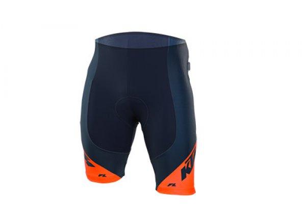 Cyklistické kraťasy KTM Factory Line bez laclu Blue/orange