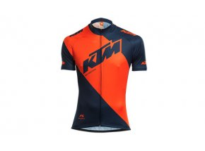 Cyklistický dres KTM Factory Line Blue/orange