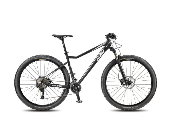 Horské kolo KTM ULTRA RIDE 29.22 2018 Black matt/white