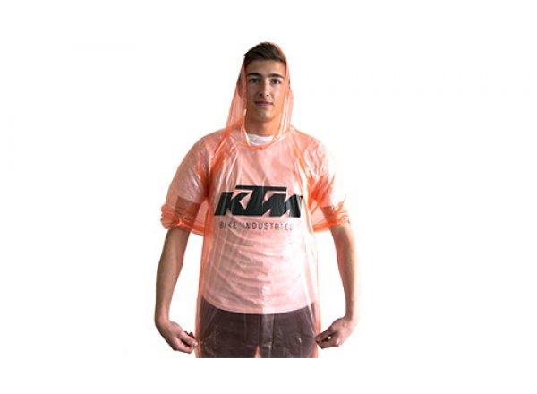 Pončo proti děšti KTM Regenponcho Orange
