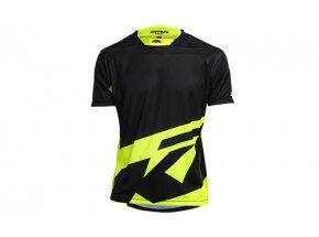 Cyklistický dres KTM Factory ENDURO Black/neon yellow