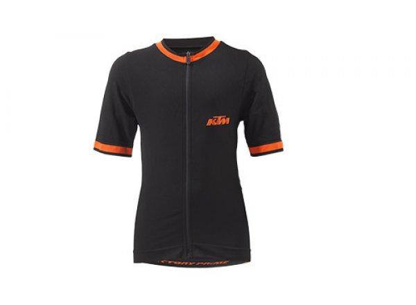 Cyklistický dres KTM FACTORY PRIME Black/orange