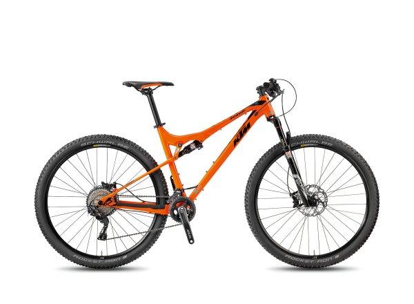 Horské kolo KTM SCARP 293 22 LTD 2018 Orange/black/marseilleblue