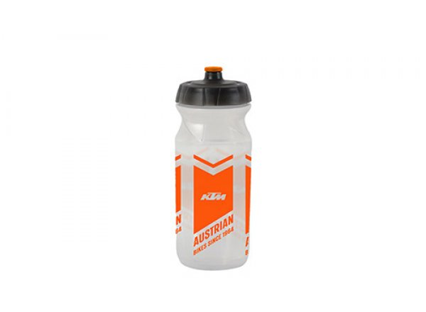 Láhev KTM Team Transparent Logo 2021 Transparent/orange
