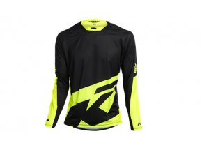 Cyklistický dres KTM Factory ENDURO long Black/neon yellow