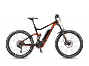 Elektrokolo KTM Macina Kapoho 275 10 SI-CX5P 2018 Black matt/toxic orange