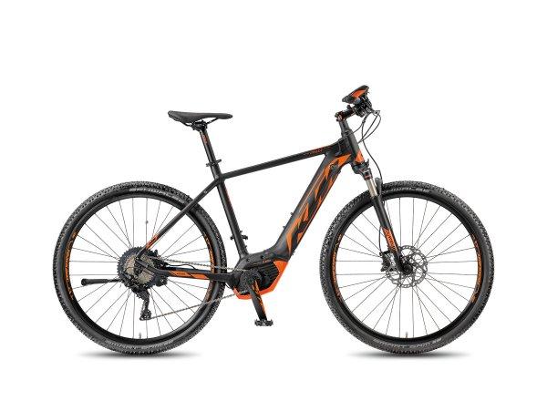 Elektrokolo KTM MACINA CROSS XT11 PT-CX5+ 2018 Black matt/orange