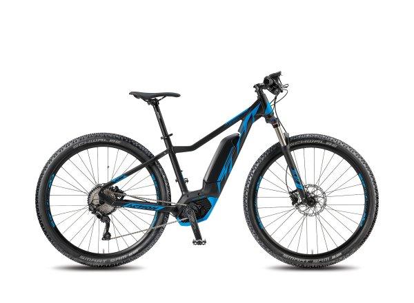 Elektrokolo KTM MACINA ACTION 291 10 SI-CX5I 2018 Black matt/blue