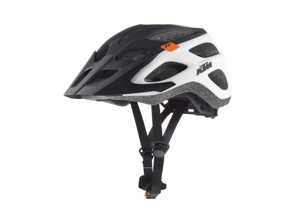 Cyklistická přilba KTM Factory Character 2019 White/black/orange