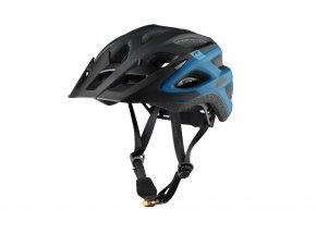 Cyklistická přilba KTM FACTORY CHARACTER HELMET Black/blue